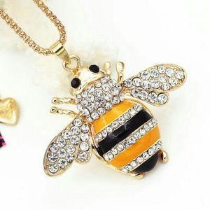 Betsey johnson jewelry bee pendant necklace poshmark betsey johnson jewelry betsey johnson bee pendant necklace aloadofball Gallery